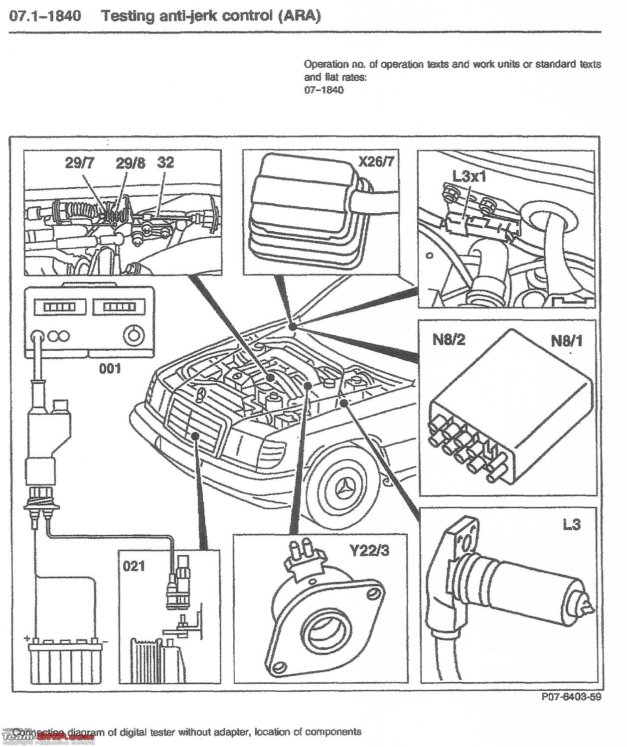 W124 Air Conditioner Wiring Diagram