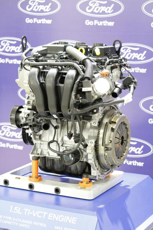 small resolution of a close look at ford s new 1 5l 3 cylinder dragon petrol engine engine