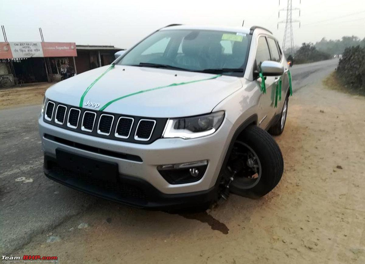 hight resolution of suspension failure on brand new jeep compass edit vehicle replaced fullscreen capture