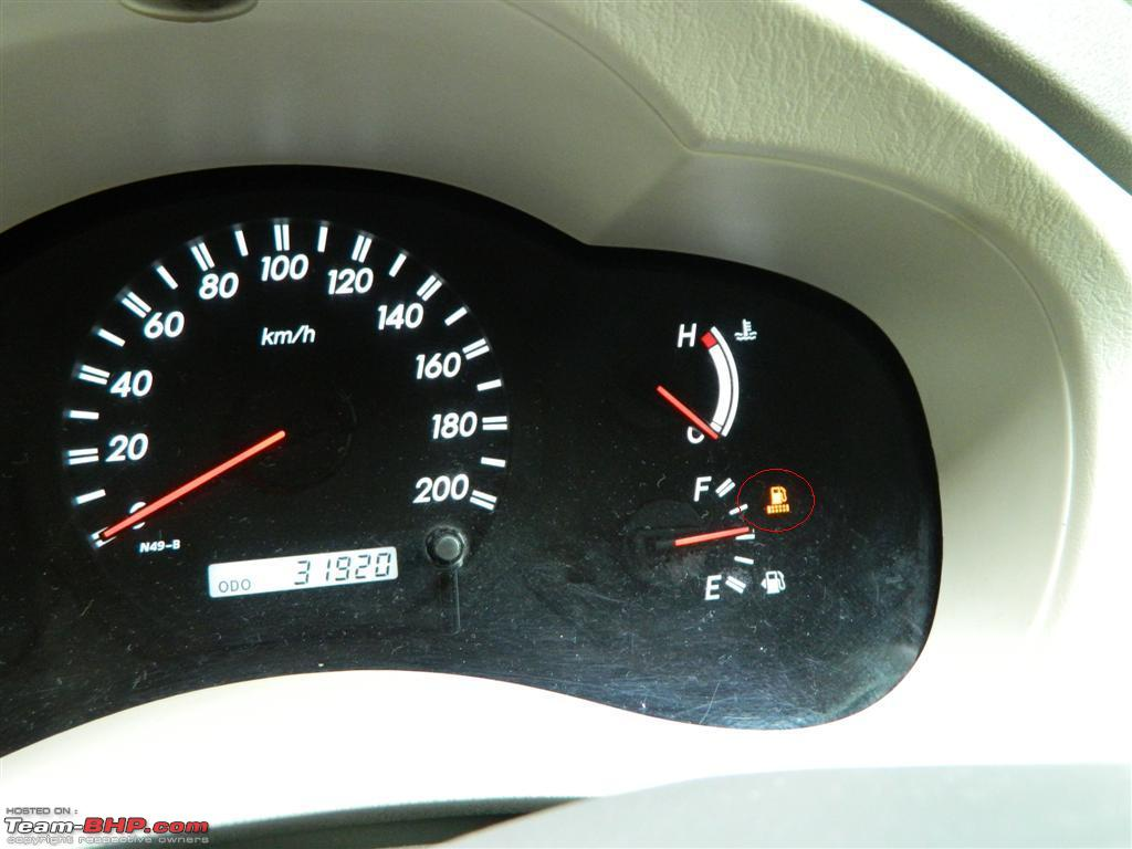 speedometer all new kijang innova agya 1.2 trd a/t how to drain water in fuel filter toyota diesel team bhp 1 warning