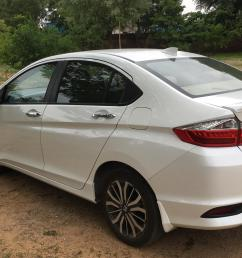 the legacy continues white orchid pearl honda city i vtec zx automatic rear [ 3786 x 2401 Pixel ]