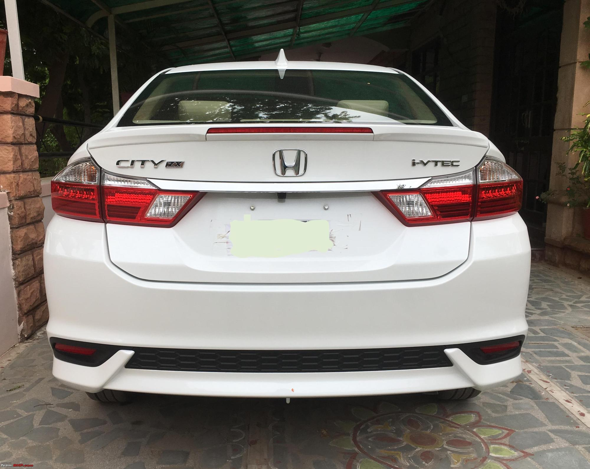 hight resolution of the legacy continues white orchid pearl honda city i vtec zx automatic rear
