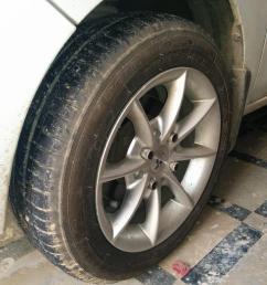 maruti suzuki wagonr tyre wheel upgrade thread img 20150503 144821 jpg [ 3264 x 2448 Pixel ]