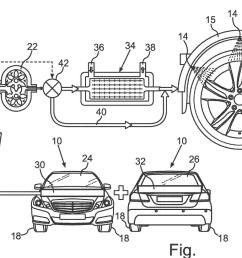 mercedes patents water cooling system for tyres mercedesbenzpatent jpg [ 1920 x 1080 Pixel ]