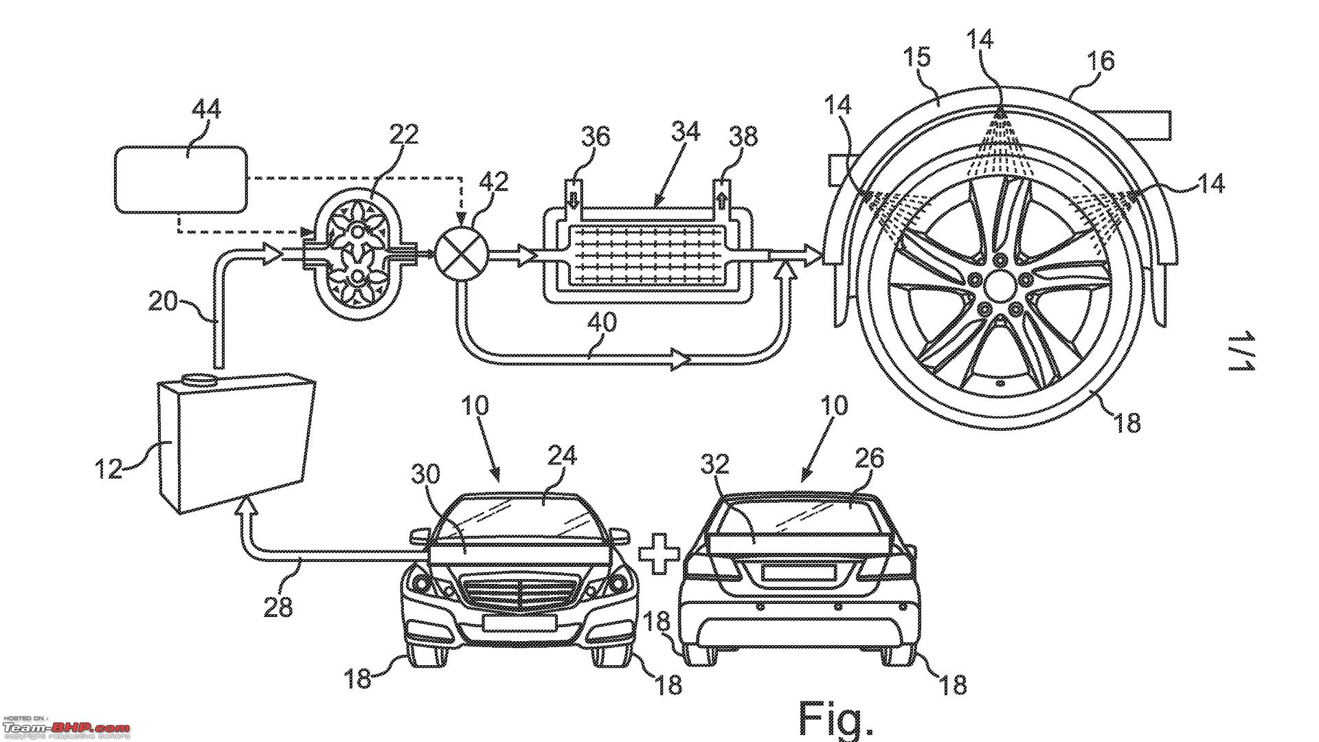 hight resolution of mercedes patents water cooling system for tyres mercedesbenzpatent jpg