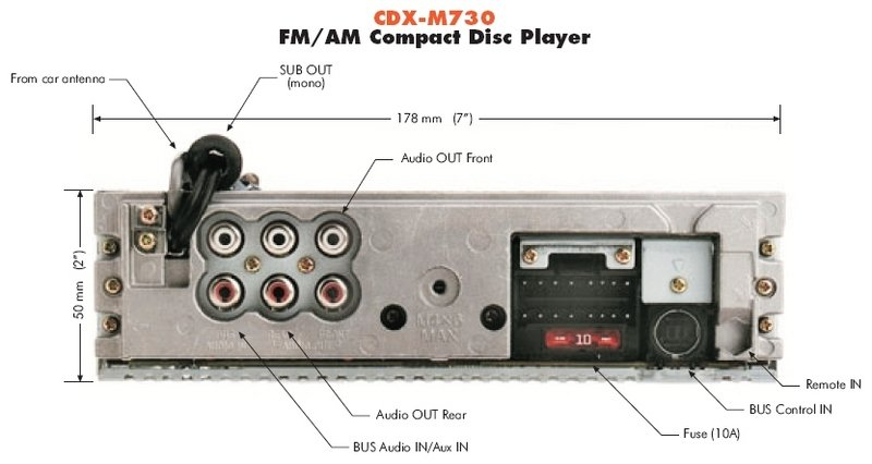 Sony Cd Player Wiring Diagram Together With Sony Car Stereo Wiring