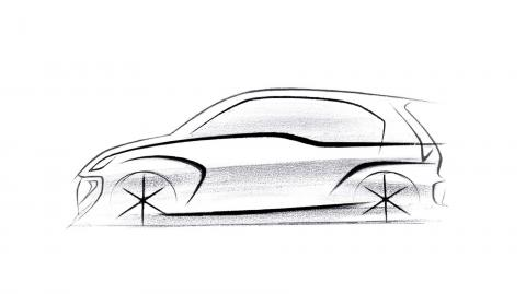 Hyundai releases first rendering of the next-gen Santro
