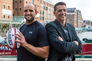 Charlie Sharples, Tim Thurston, Team-i training, rugby