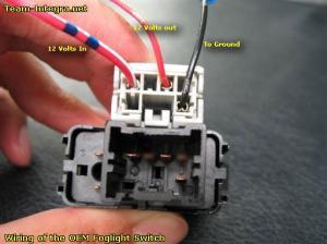 G3 Factory Fog Light Wiring  Team Integra Forums  Team Integra