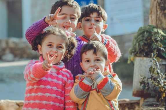 Des enfants en bonne santé avec l'alimentation Low Carb
