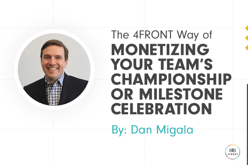 4FRONT, sports marketing company, sports marketing agency, top sports marketing brand, sports analytics, sports celebrations, sports business, sportsbiz, sports agency, Dan Migala