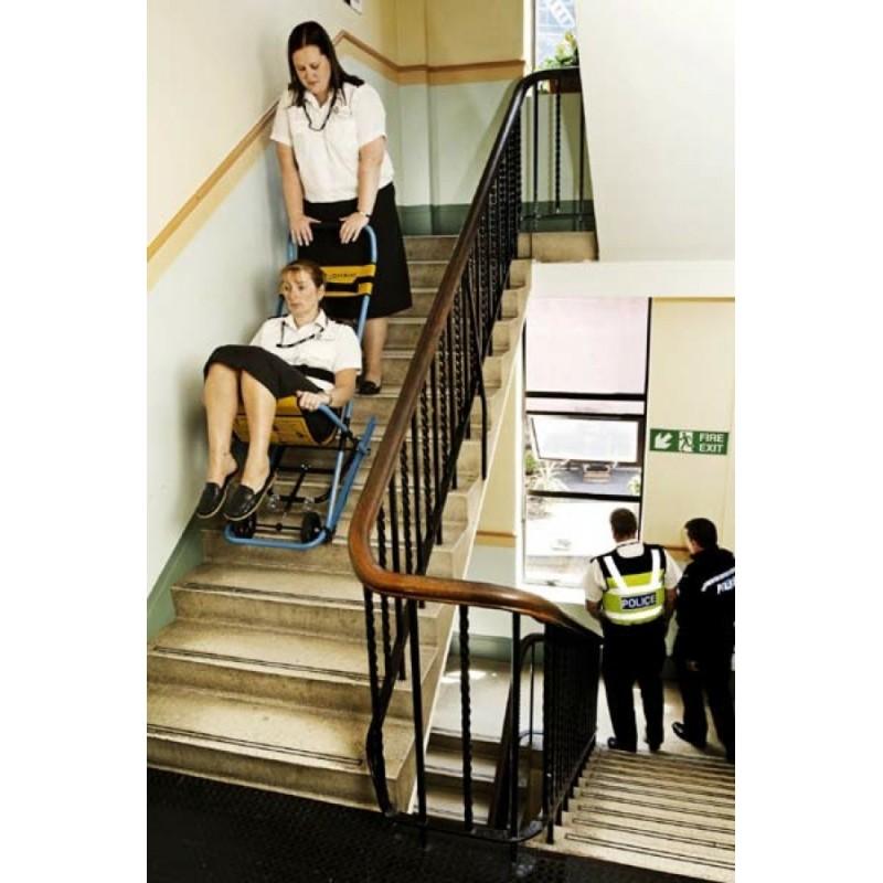 gym ball chair folding metal chairs chaise d'évacuation par escalier evac