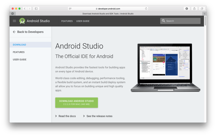 android-studio-download-mac