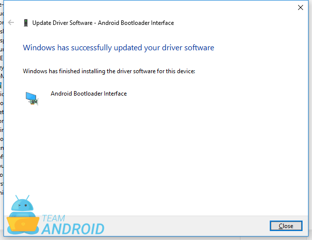 Install Fastboot Bootloader Driver