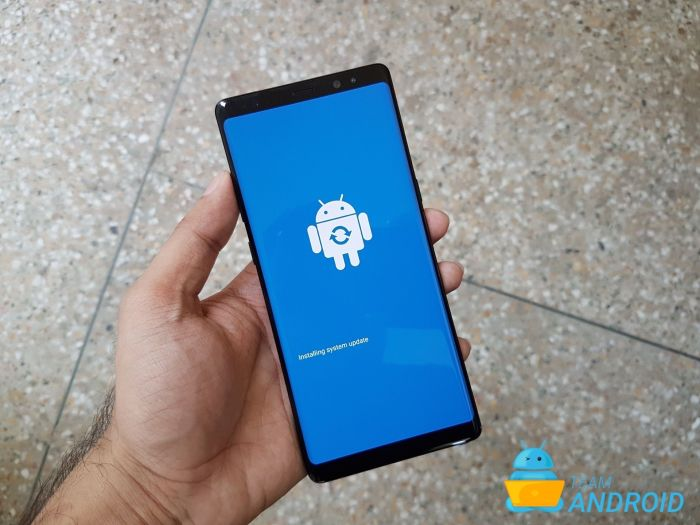 Galaxy S9 Recovery Mode