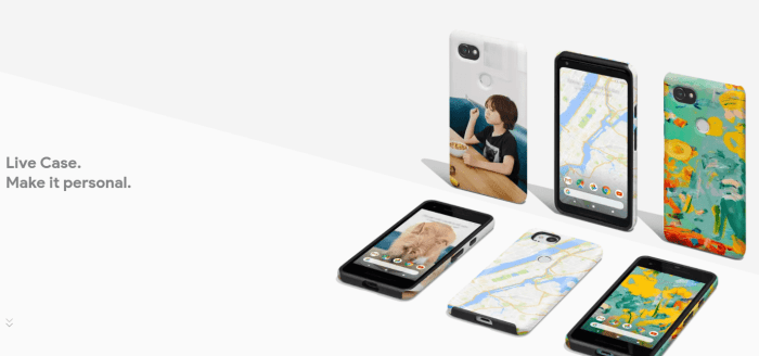 Google Pixel 2 Accessories - Live Cases