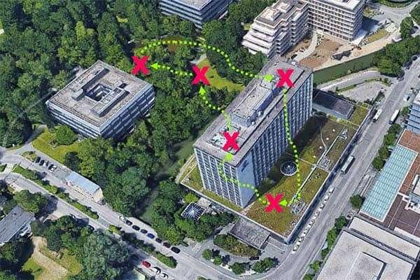 Sinnbildliche Darstellung Sheraton Arabellapark Munich Hotel