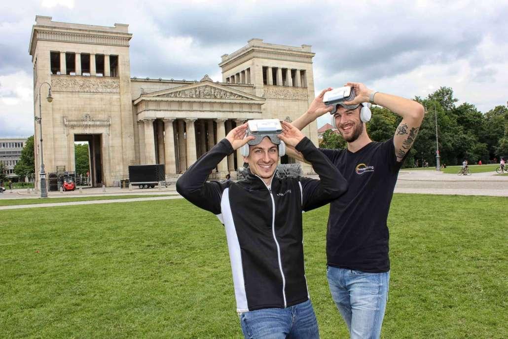 teamazing revolutioniert mit Virtual Reality die Teambuilding-Branche