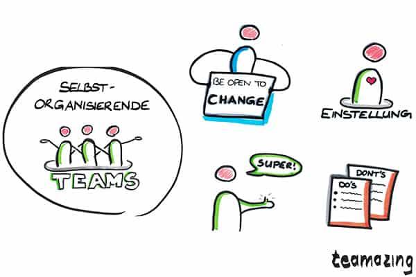 Führungsinstrumente selbstorganisierte Teams