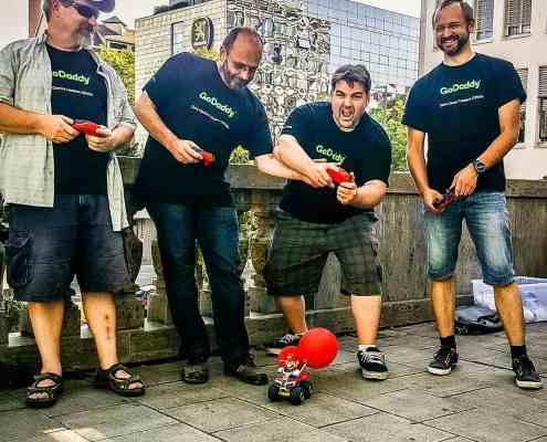 Mario Kart Battle bei City-Challenge München Package