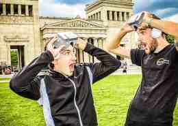 Virtual Reality in Stuttgart