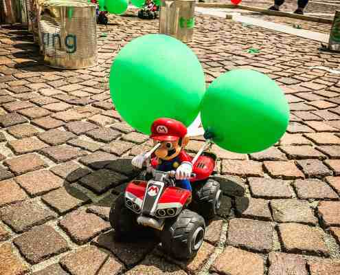 Mario Kart meets Ulm