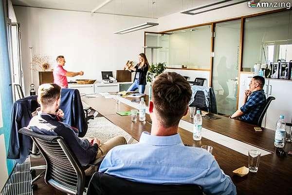 Teambuilding in München mit der foobar Agency