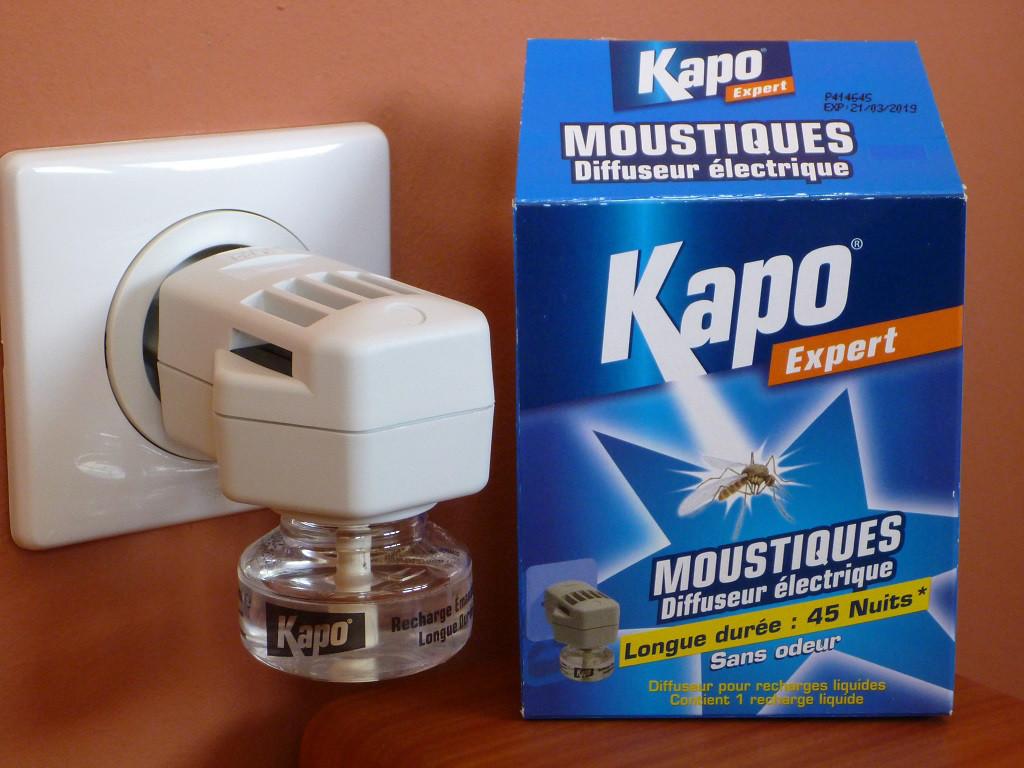 Répulsif pour moustique à brancher