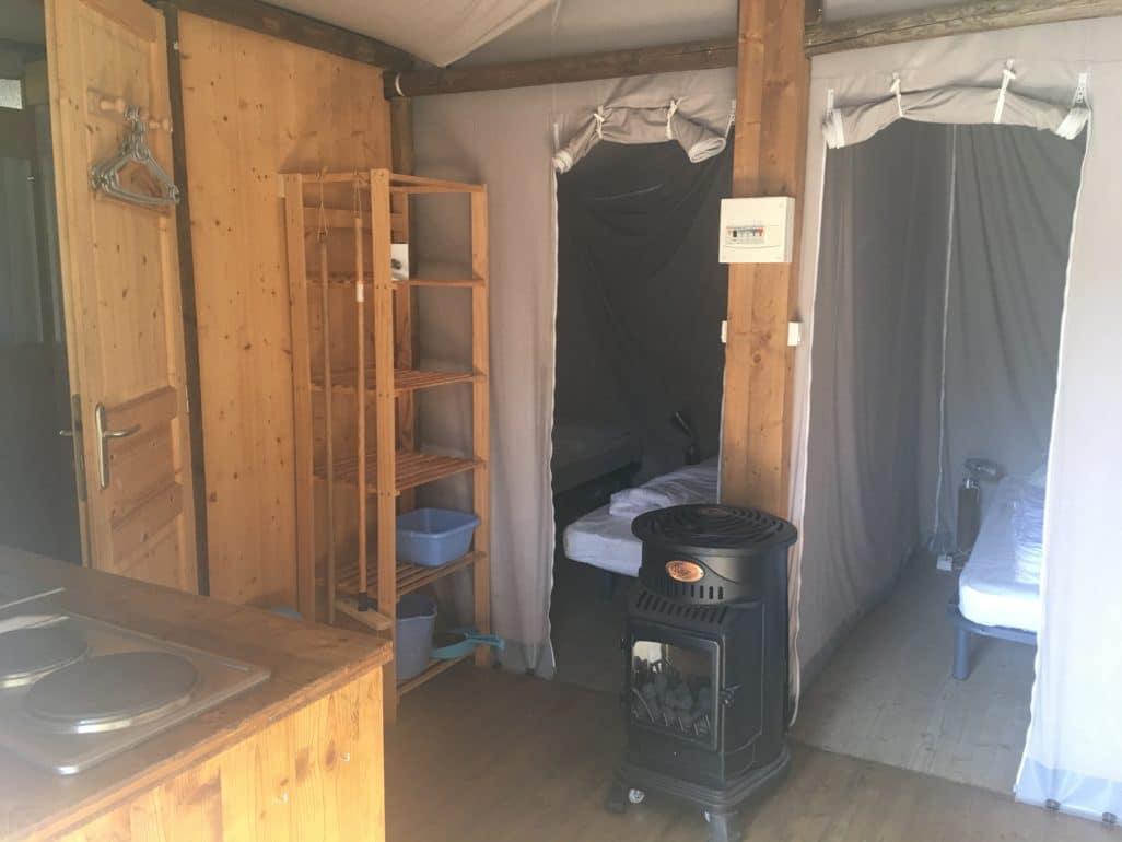 Chalet camping du Port Creysse