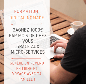 Formation micro service