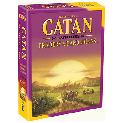 Catan Barbarians and Traders 5-6 Players – Cover