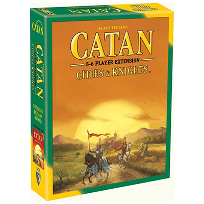 Catan Cities and Knights 5-6 Players – Cover