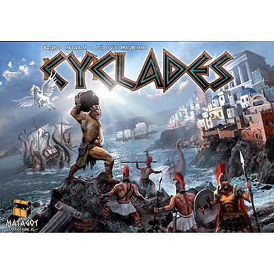 Cyclades – Cover