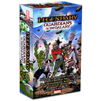 Legendary Guardians - Cover