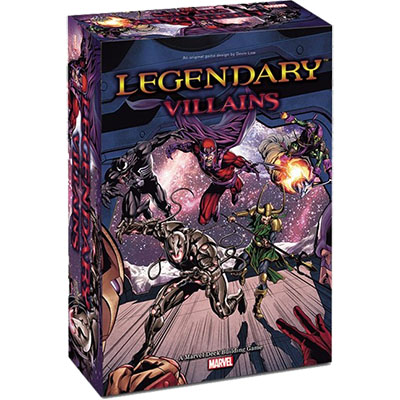 Legendary Villians - Full Cover