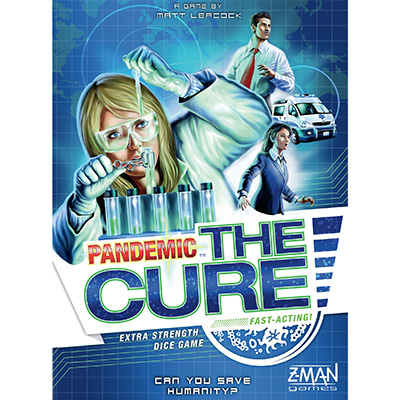 Pandemic The Cure - Cover