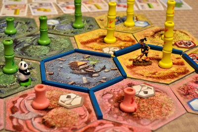 Takenoko – Zoomed View