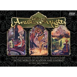 Tales of the Arabian Nights - Cover