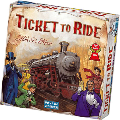 Ticket to Ride - Cover