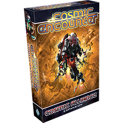 Cosmic Encounter Cosmic Alliance – Cover