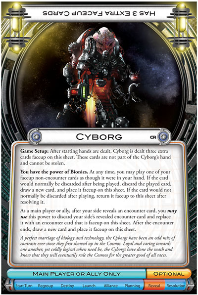 Cosmic Encounter Cosmic Alliance – Cyborg