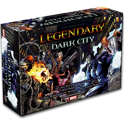 Legendary Dark City - Cover