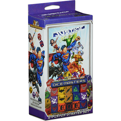 DC Dice Masters Justice League Starter Set - Cover