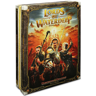 Lords of Waterdeep - Cover