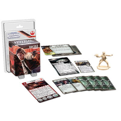 Star Wars Imperial Assault Han Solo Ally Pack – Overview