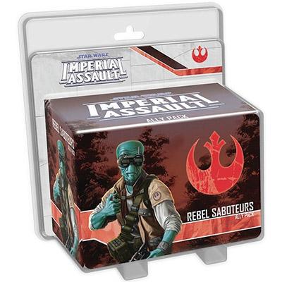 Star Wars Imperial Assault Rebel Saboteurs Ally Pack - Cover