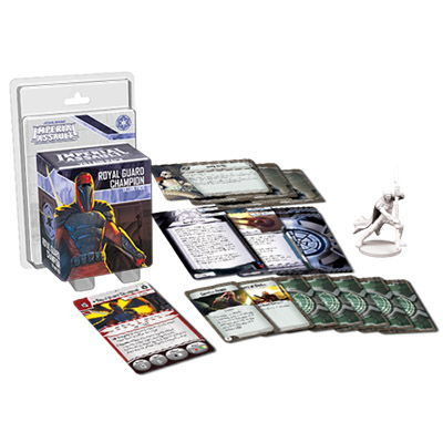 Star Wars Imperial Assault Royal Guard Champion Villain Pack – Overview
