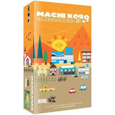 Machi Koro Millionaire's Row Expansion – Cover