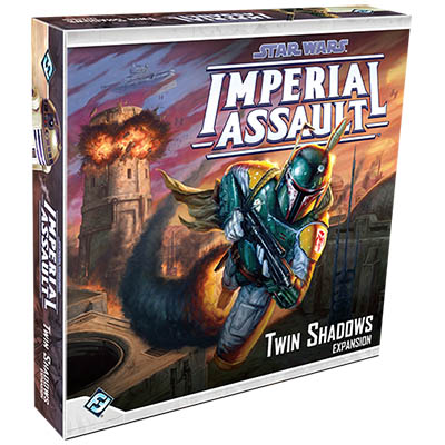 Star Wars Imperial Assault - Twin Shadows Box Expansion - Cover