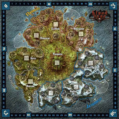 Blood Rage – Board